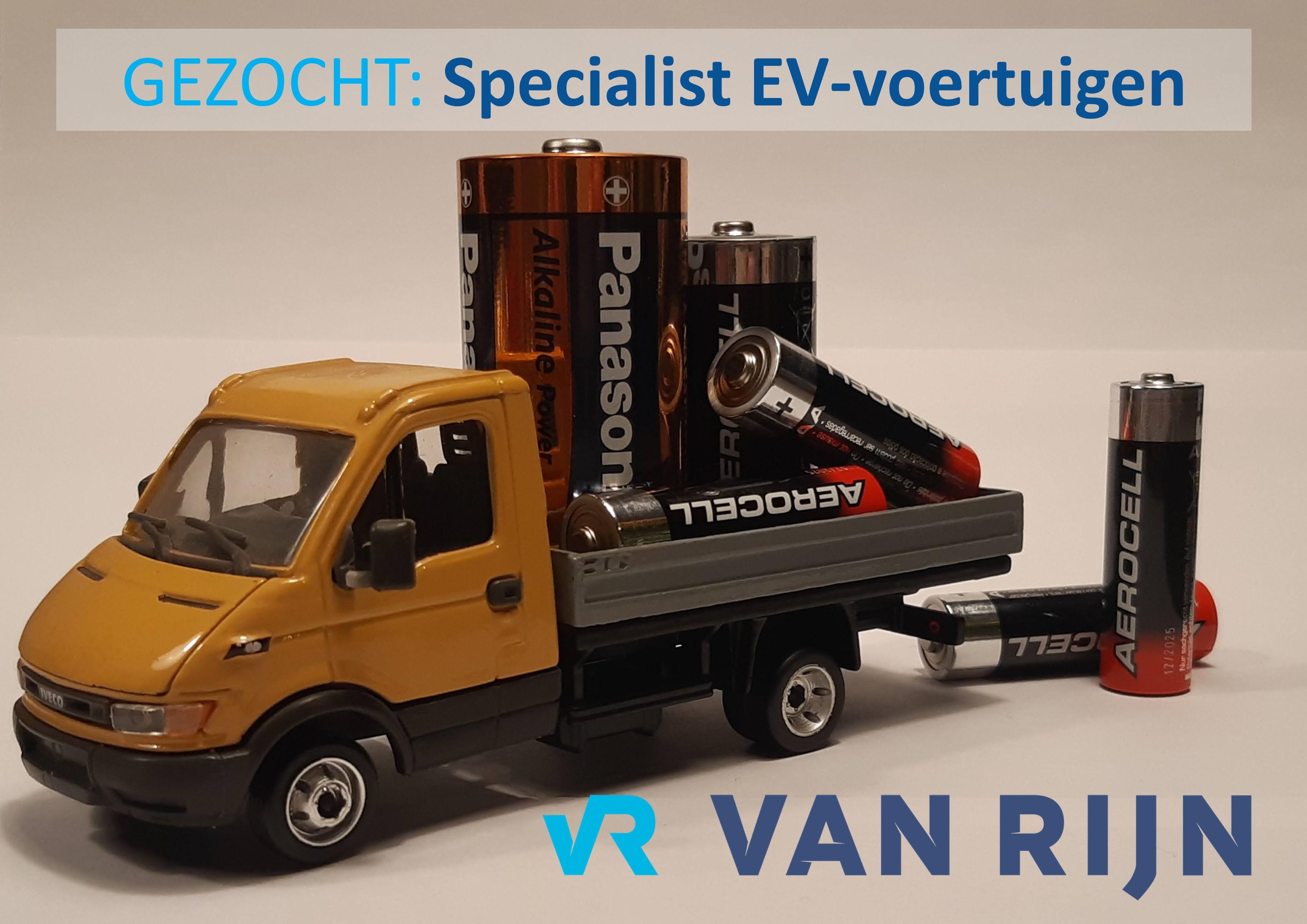 Vacature Specialist Elektrische Voertuigen